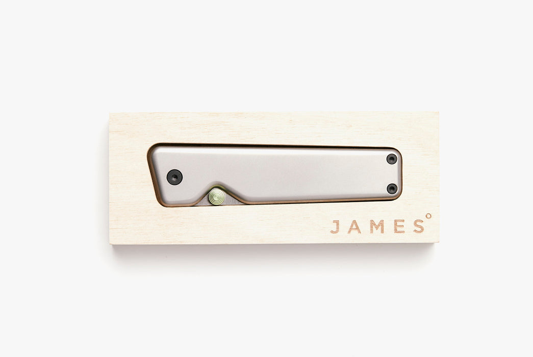 The James Brand - Chapter - Titanium/Stainless