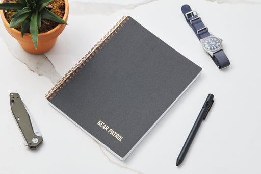 Black Notebook - With Accessories