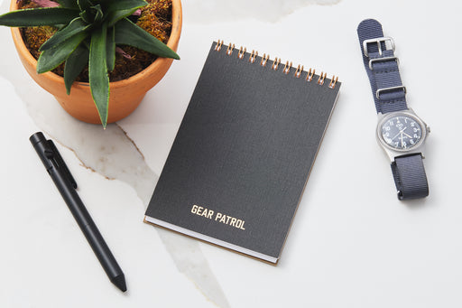 Gear Patrol Pocket Notepad - Charcoal