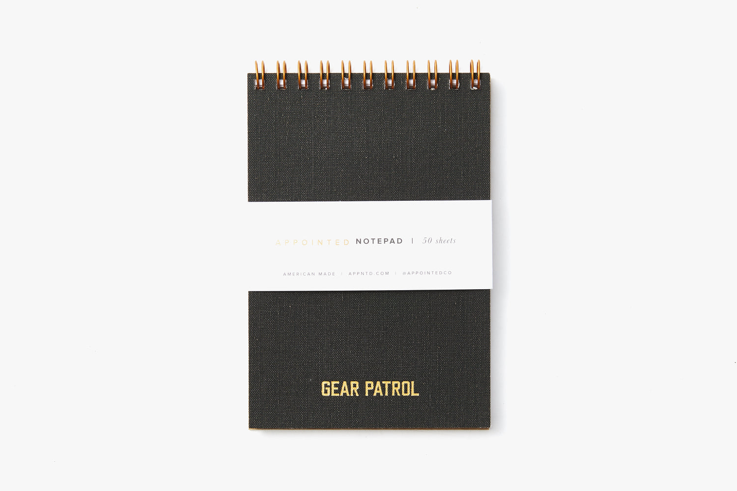 Black Notepad - Front