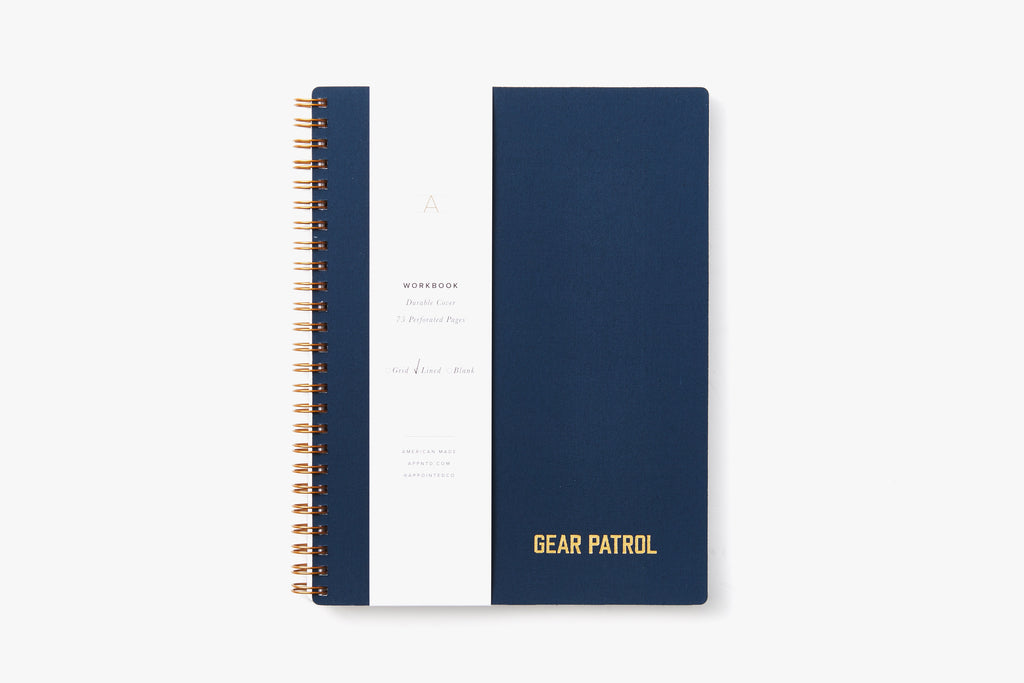 Gear Patrol Workbook - Oxford Blue