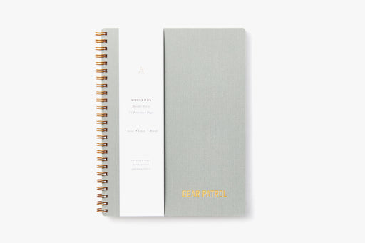Gear Patrol Workbook - Dove Grey
