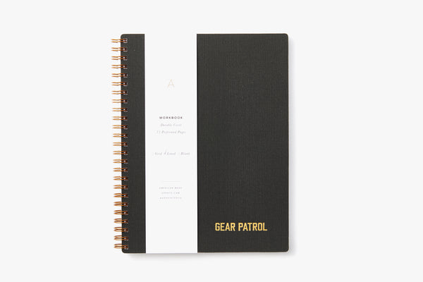 Gear Patrol Workbook - Charcoal