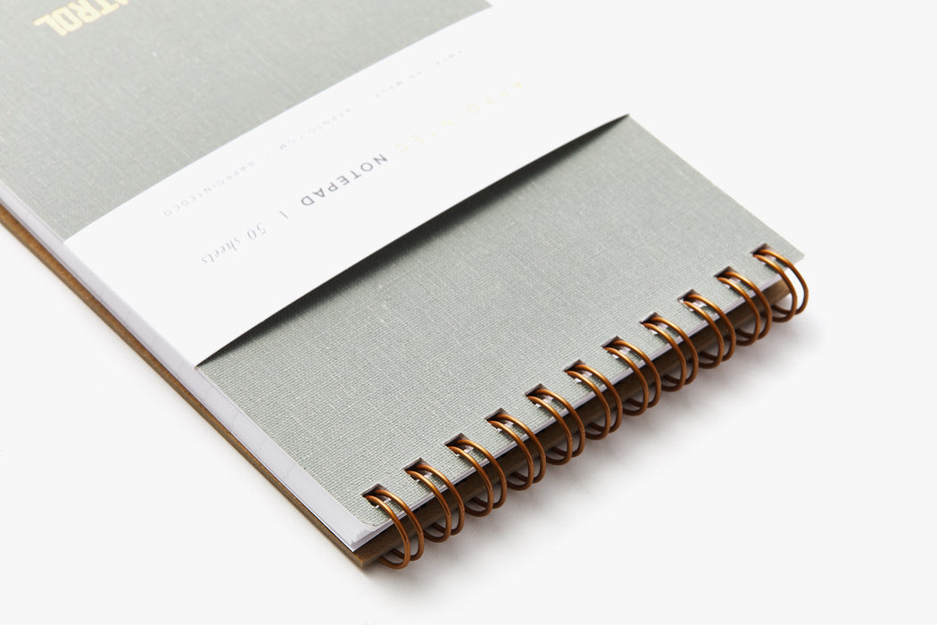 Grey Notebook - Cover