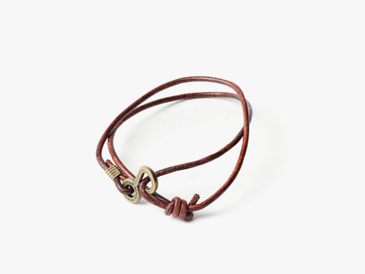 Brown Rum Runner Bracelet - Standing Up