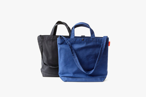 Black Tote and Blue Tote