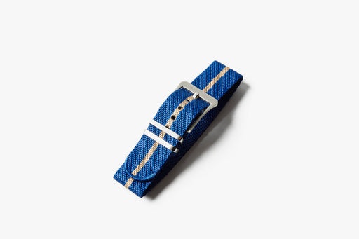 Crown & Buckle Chevron Adjustable Watch Strap - Royale/Harvest