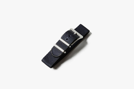 Crown & Buckle Chevron Adjustable Watch Strap - Night