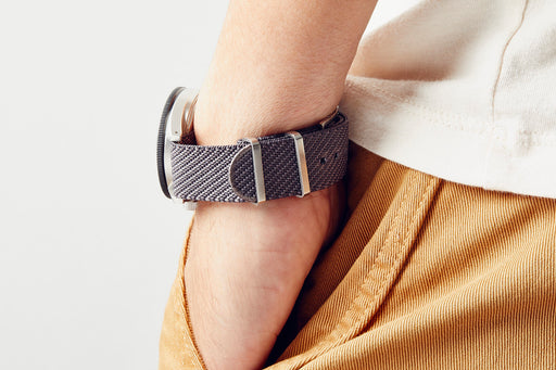 Stone Watch Strap - On Wrist