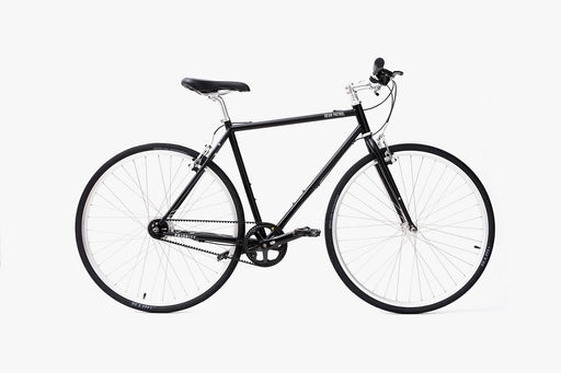 Black - Priority Bicycles x gear Patrol Commuter Bike - Side