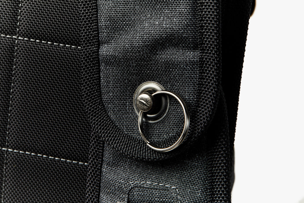 Velomacchi Giro 35L Backpack - Close up of backpack strap
