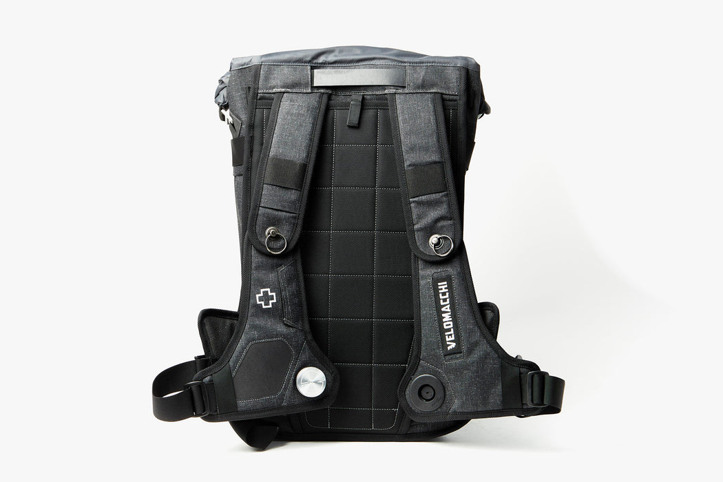 Velomacchi Speedway 40L Backpack - Strap side