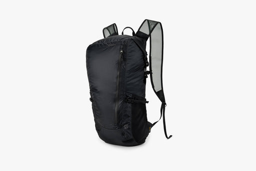 Matador Freerain24 2.0 Backpack - Black - Side view of pack standing upright