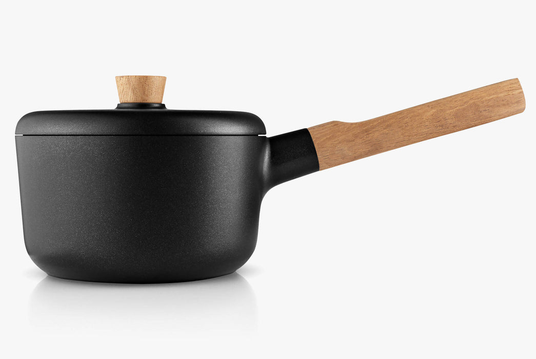 Black Saucepan - With Lid - Sealed