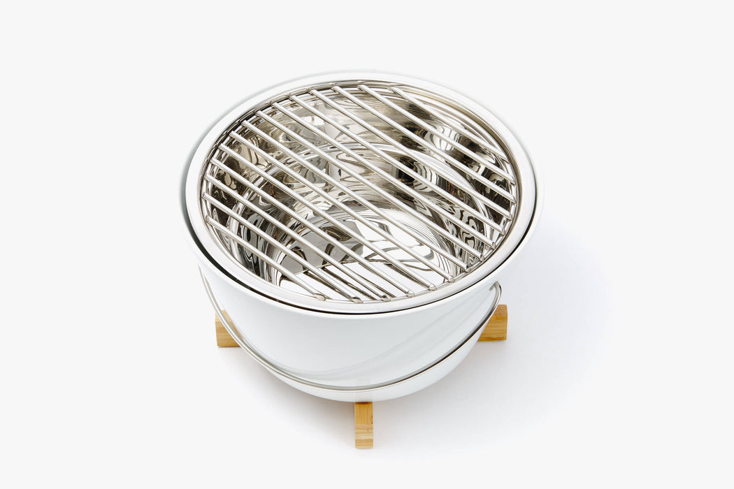 White Table Grill - Top View