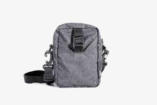 Gray Go Sling Bag Standing Up - Front View