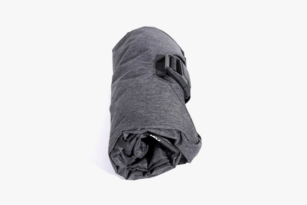 Gray Go Tote Rolled Up