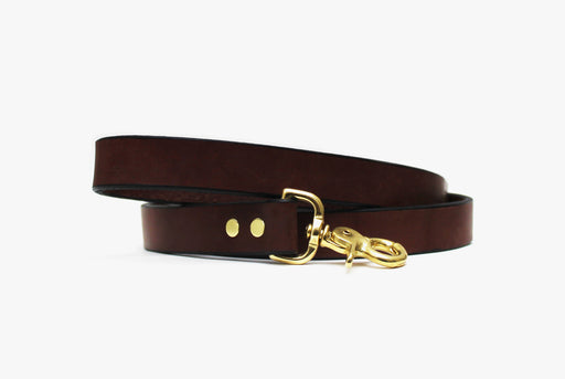 American Bench Craft Leather Dog Leash