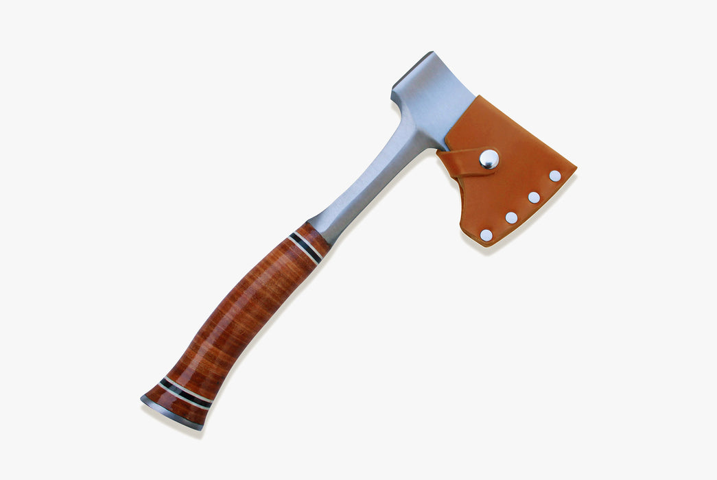 American Bench Craft Estwing Sportsman Axe with Riveted Leather Sheath
