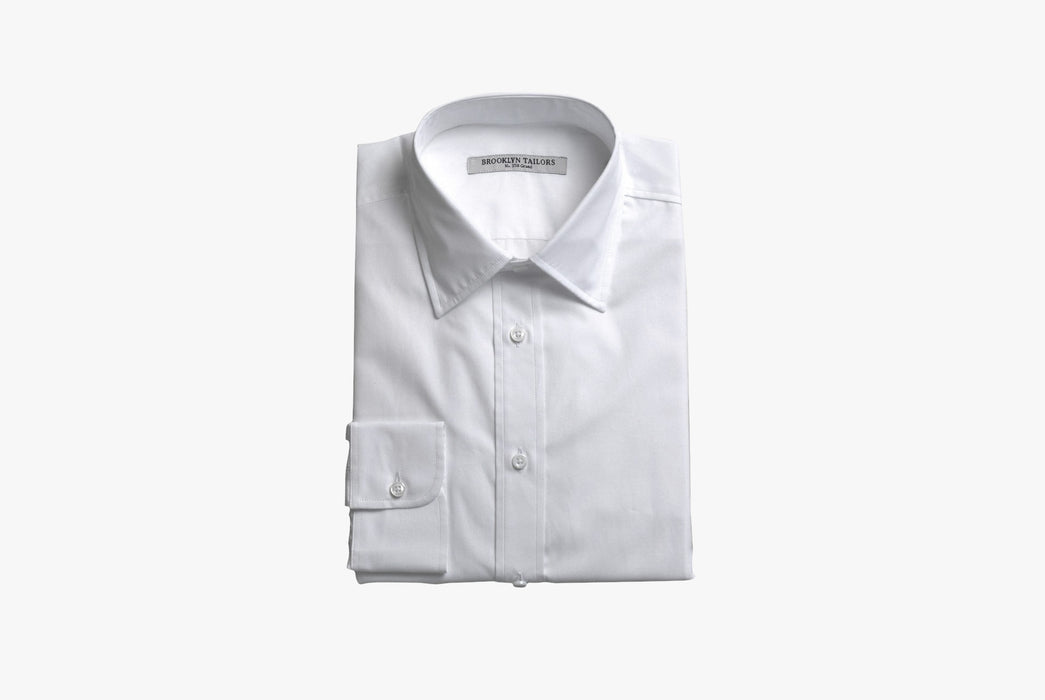 Brooklyn Tailors BKT20 Dress Shirt In Crisp Poplin