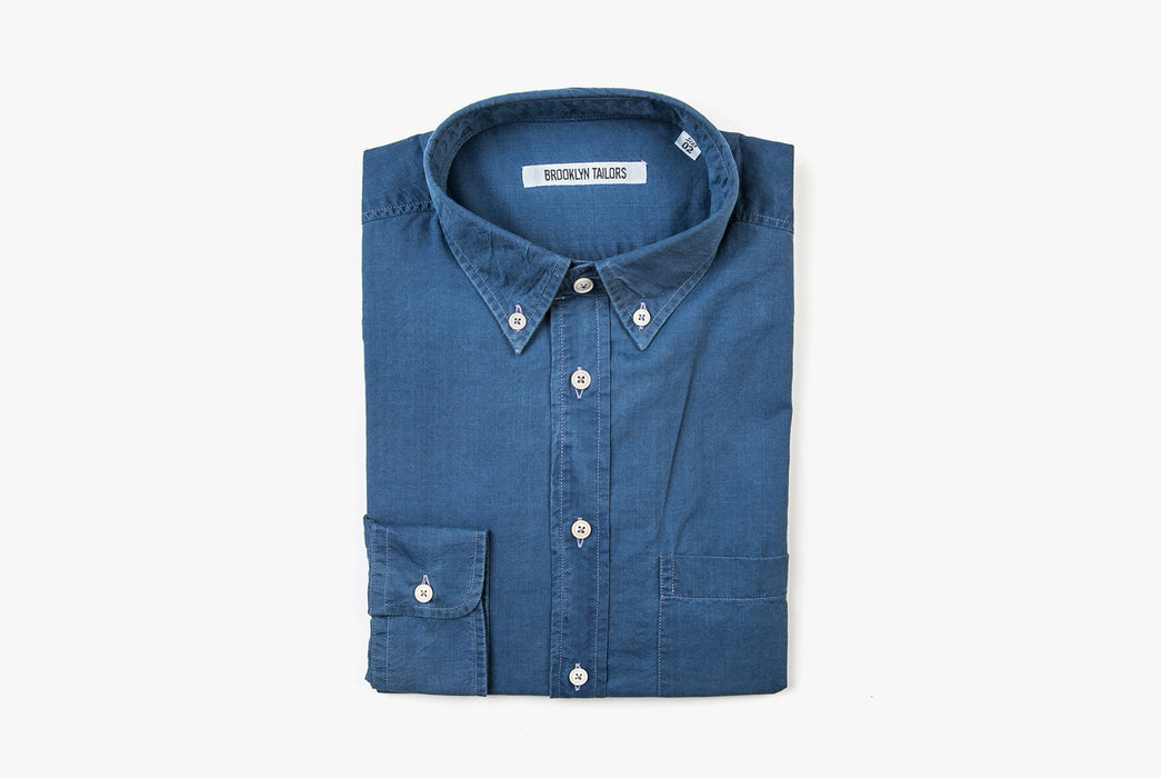 Denim Shirt - Folded - Front View