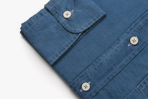 Denim Shirt - Cuff Detail