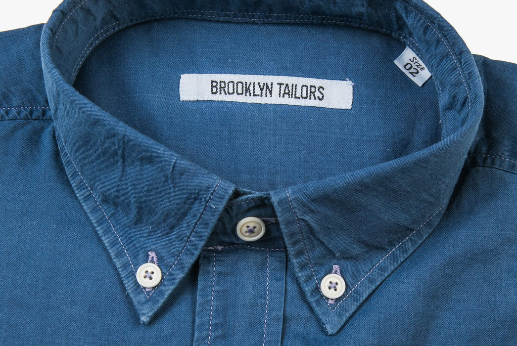 Denim Shirt - Neck Detail