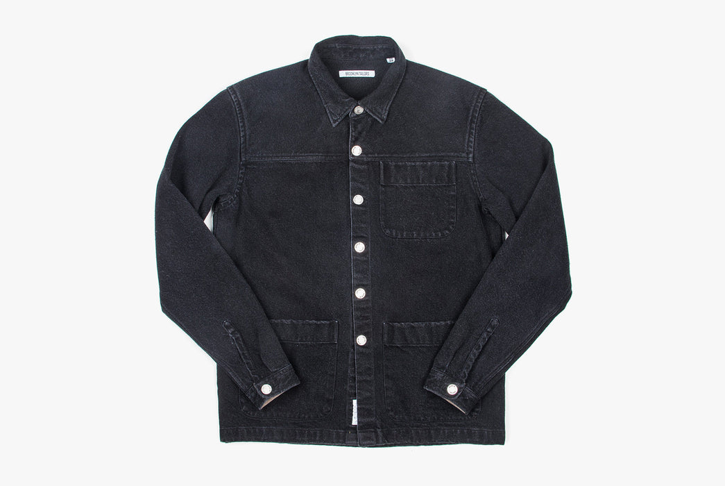 Brooklyn Tailors BKT15 Shirt Jacket In 14oz Denim