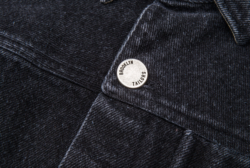 Black Jacket - Button Detail