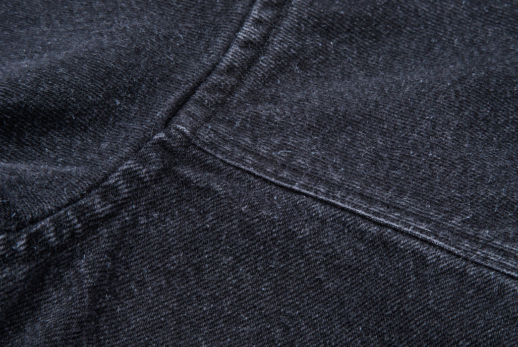 Black Jacket - Seam Detail