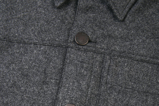 Brooklyn Tailors BKT15 Shirt Jacket In Wool Tweed