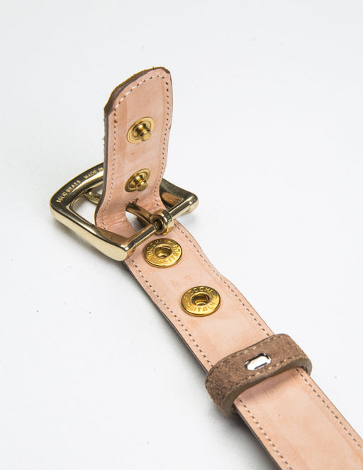Suede Dress Belt - Unclasped