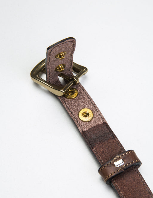 Leather Dress Belt - Unclasped