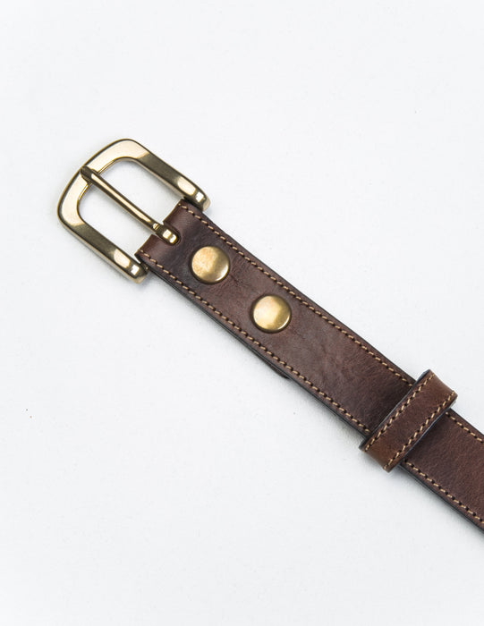 Brooklyn Tailors Missouri Casual Belt In Calf Leather