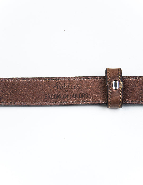 Leather Dress Belt - Interior