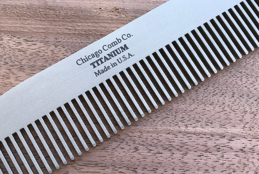 Titanium Comb - Close Up View