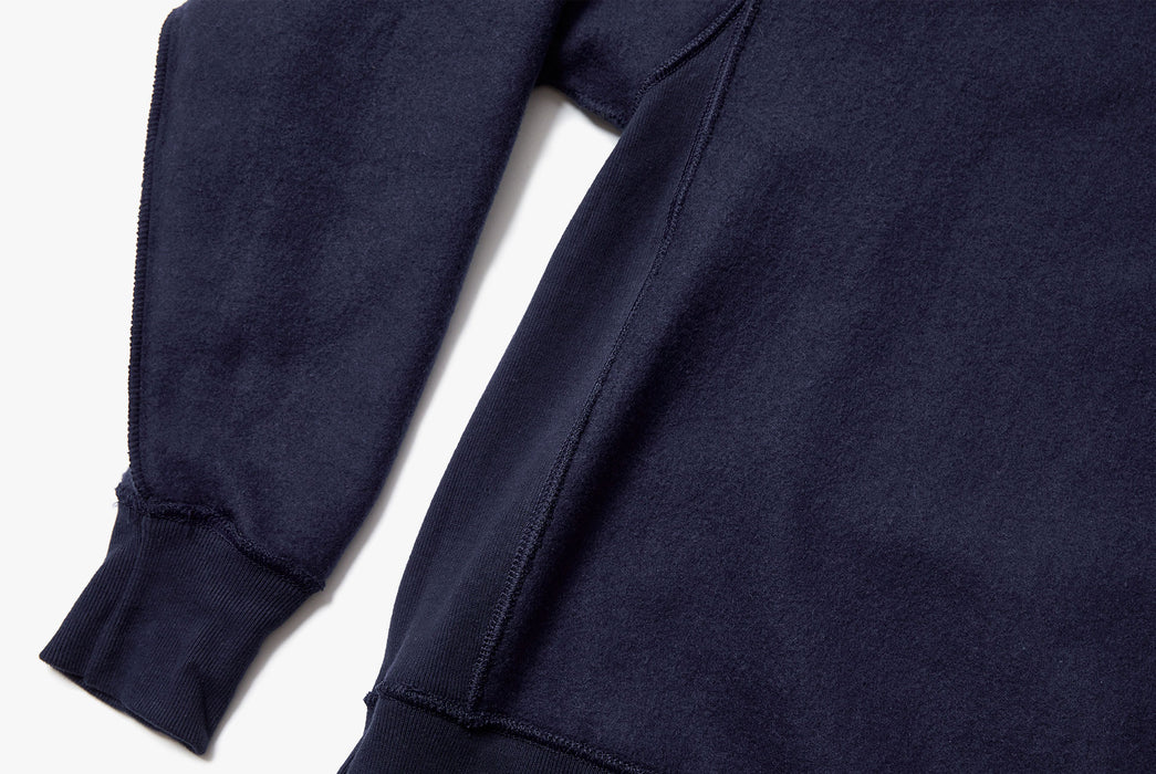 Navy Sweatshirt - Sleeve