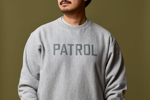 Gray Sweatshirt - On MOdel