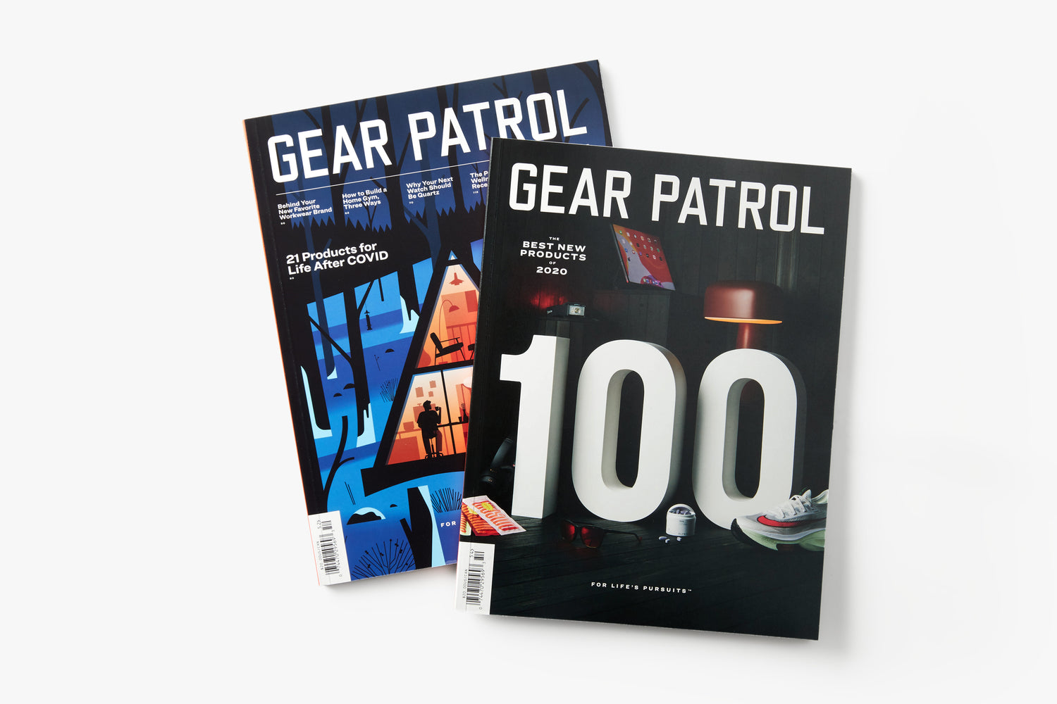 Gear Patrol Magazine Issue Fifteen and Fourteen Bundle