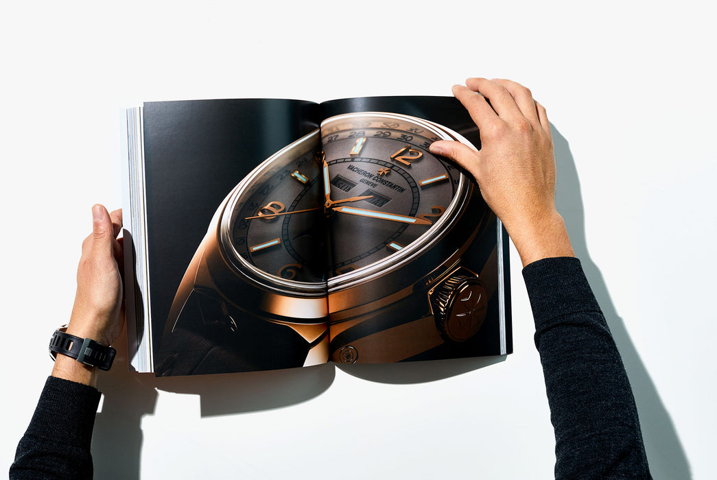 Gear Patrol Magazine, Issue Eight - Open to Spread showing Vacheron Constantin watch