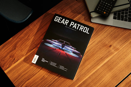 Gear Patrol Magazine - Cover - On Desk