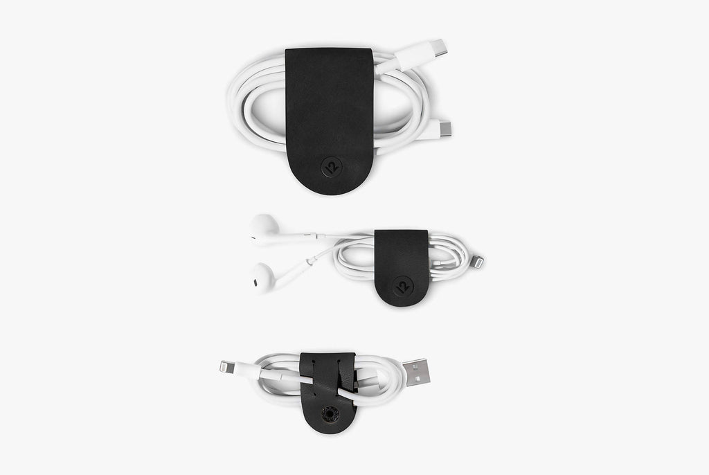 Twelve South CableSnap 3 Pack - Black