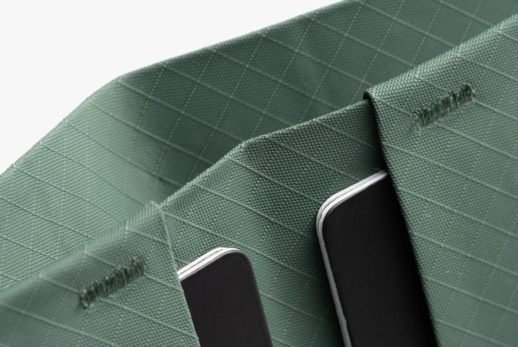 Evergreen - Pioneer Flyfold Wallet - Close up of cash pocket