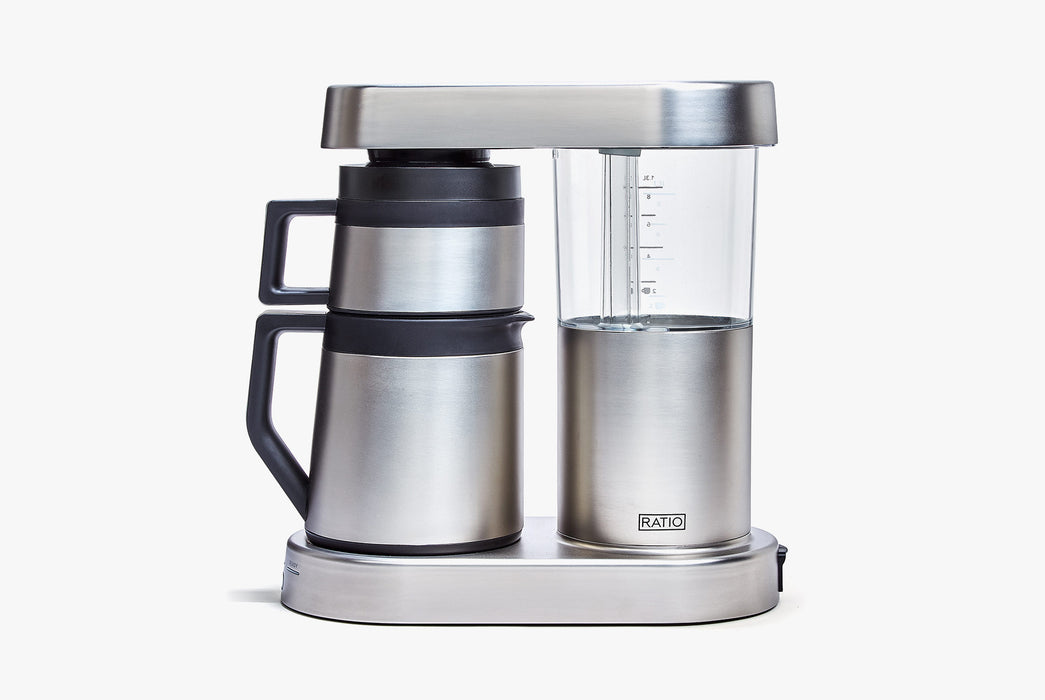 Stainless Steel - Ratio Six Coffee Maker - Side