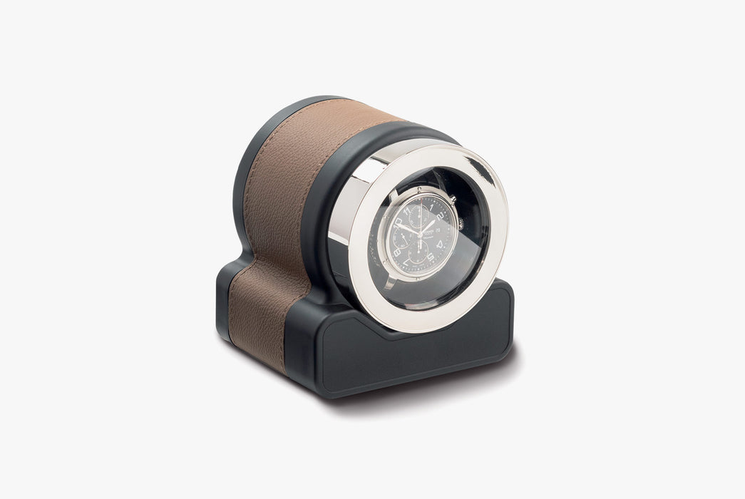 Scatola del Tempo Rotor One Watch Winder - Chestnut