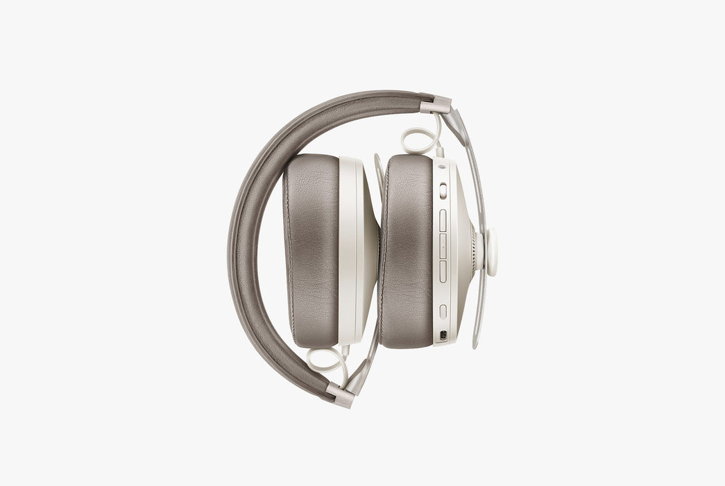 Sandy White - Sennheiser Momentum 3 Wireless - Folded up