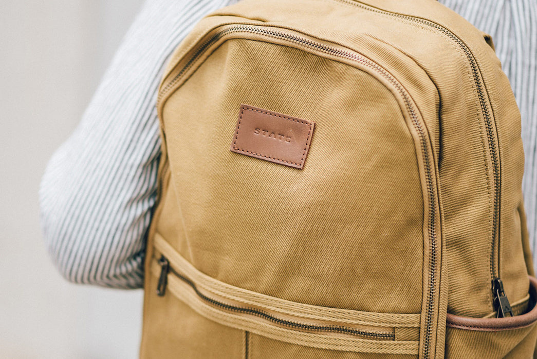 STATE Bedford Cotton Twill Backpack