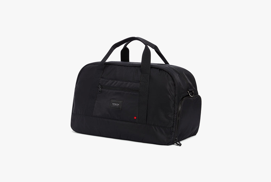 STATE Franklin Nylon Duffel Bag - Angled photo