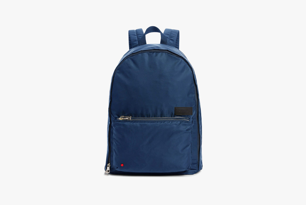 Navy - STATE Lorimer Nylon Backpack