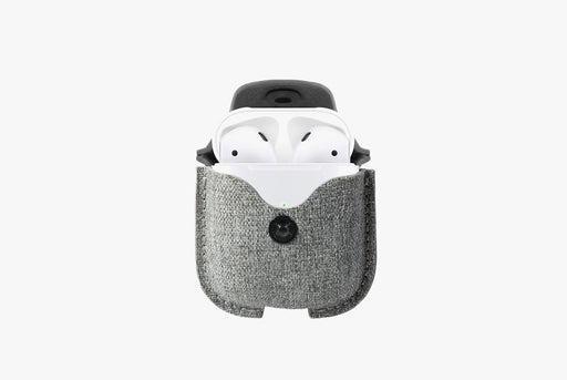 Twelve South AirSnap for AirPods - Twill Fog
